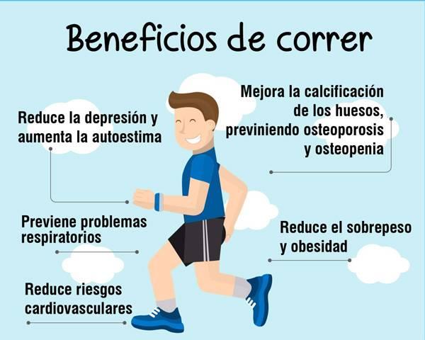 beneficios para la salud de salir a correr