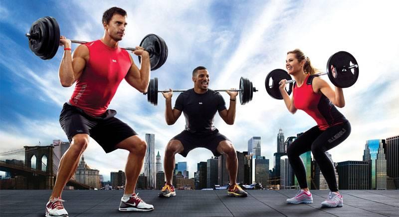 entrenamiento body pump