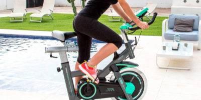 bicicleta estática para entrenar en casa
