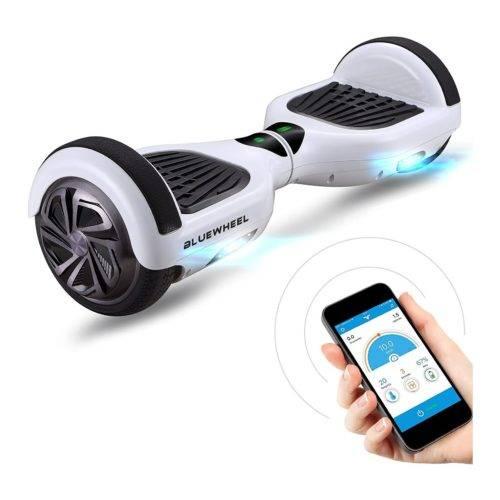 Patinete eléctrico Bluewheel HX310s - Marca de calidad alemana - Hoverboard con Sistema de Seguridad para niños a través de App