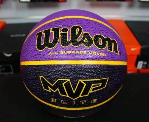 Wilson Balón de Baloncesto, Mvp Elite, Cubierta de Goma, Todas las Superficies 2
